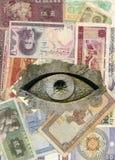 Todo-ver el ojo Fotografía de archivo libre de regalías