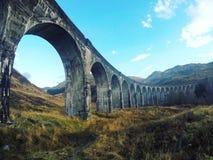 ¡Todos a bordo del Hogwarts expreso! Fotos de archivo