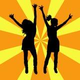Todos dança! Fotografia de Stock Royalty Free