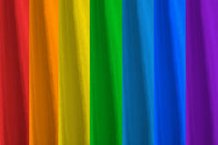 Todos los colores del arco iris Fotografía de archivo