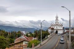 Todos los Santos Church Church of All Saints - Cuenca, Ecuador Stock Photography