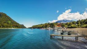 Todos los Santos Lake - Los Lagos Region, Chile. Todos los Santos Lake in Los Lagos Region, Chile royalty free stock image