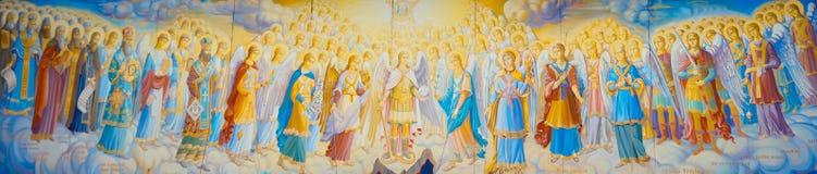 Todos os arcanjos e Saint Imagens de Stock Royalty Free