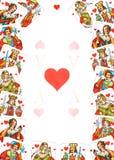 Todos os corações Fotografia de Stock