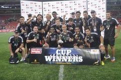 Todos os pretos - coloque a vencedor-Pilha c para 2012 Fotografia de Stock