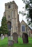 Todos os Saint igreja, Biddenden, Kent, Inglaterra foto de stock royalty free
