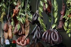 Carne de porco seca Fotos de Stock