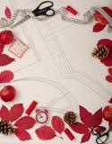 Todos para coser - tela, modelos y accesorios de costura Fashio Imagen de archivo