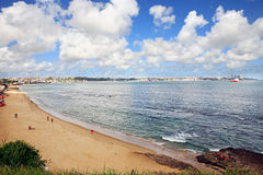 Todos santos bay of salvador of bahia brazil Royalty Free Stock Image