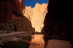 todra каньона Стоковые Фото