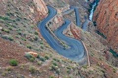 todra Марокко gorge Стоковое фото RF
