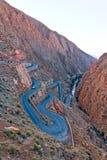todra Марокко gorge Стоковая Фотография