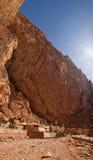 todra Марокко gorge Стоковое Изображение
