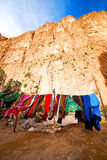 In todra gorge morocco Royalty Free Stock Photography