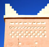 Todra  the history in maroc africa  minaret religion and  blue Stock Photos