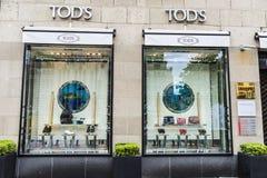 Tods sklep w Dusseldorf, Niemcy Obraz Stock