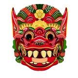 Todsakan смотрит на которое король демона в тайском Khon вектор Стоковые Фотографии RF