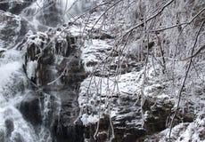 Todtnau Waterfall detail Stock Images