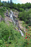 Todtnau waterfall - Black Forest Royalty Free Stock Photography