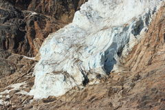 Toe of Angel Glacier Stock Photos