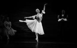 Toe dance. In December 22, 2013 the ballet Swan Lake Ukraine Kiev Grand Theatre ballet in Jiangxi Nanchang Royalty Free Stock Image