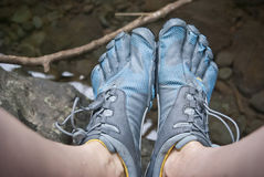 Toe Shoes Royalty Free Stock Photography