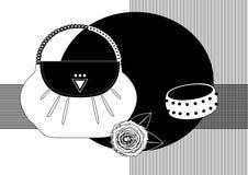 Toebehoren Vector Illustratie