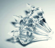 toebehoren, kleine transparante kristallen Royalty-vrije Stock Foto