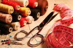 Toebehoren van de kleermaker Royalty-vrije Stock Foto