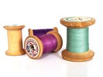 Toebehoren van het naaien Stock Foto's
