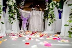 Toebehoren voor huwelijksregistratie Stock Afbeelding