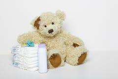 Toebehoren voor pasgeboren Stock Afbeelding