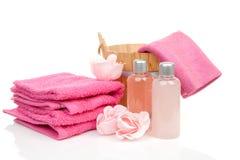 Toebehoren voor sauna of kuuroord Royalty-vrije Stock Fotografie