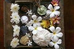 Toebehoren voor Thaise massage royalty-vrije stock afbeelding