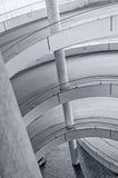 Toegangshelling, het concrete werk Royalty-vrije Stock Foto's