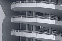 Toegangshelling, het concrete werk Royalty-vrije Stock Foto