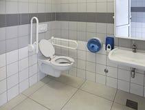 Toegankelijk toilet royalty-vrije stock foto's