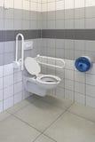 Toegankelijk toilet royalty-vrije stock foto