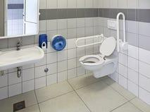 Toegankelijk toilet stock fotografie