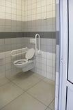 Toegankelijk Toilet Seat royalty-vrije stock fotografie