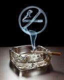 Toegestaan niet roken Stock Afbeelding