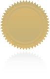 Toekenning starburst royalty-vrije illustratie
