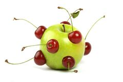 Toekomstige appel Royalty-vrije Stock Afbeeldingen