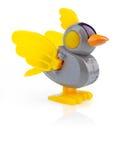 Toekomstige robotvogel Stock Afbeeldingen