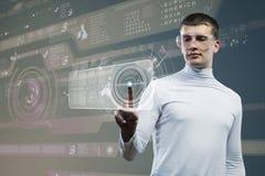 Toekomstige technologieën Stock Afbeeldingen