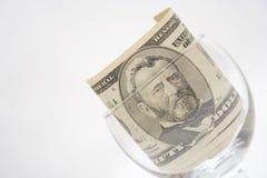 Toelage in glas Royalty-vrije Stock Afbeelding