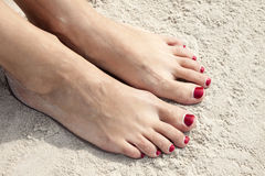 Toenails Royalty Free Stock Photography