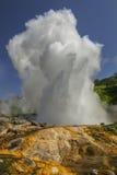 Toendra, vulkaan, zonsondergang Royalty-vrije Stock Fotografie