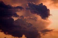 Toenemend onweer Stock Afbeeldingen