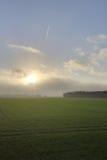 Toenemend Onweer over Grubenhagen Stock Afbeelding